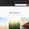 Premium WordPress Theme My Flatonica