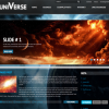 Premium WordPress Theme Universe
