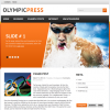 Premium WordPress Theme Olympic Press