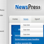 Premium Wordpress Theme NewsPress