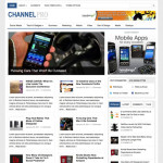 Premium Wordpress Theme ChannelPro