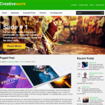 Premium Wordpress Theme Creativework