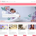 Premium Wordpress Theme Frau