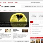 Premium Wordpress Theme Gazette