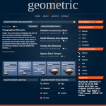 Premium Wordpress Theme Geometric