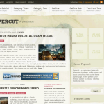 Premium Wordpress Theme PaperCut