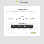 Premium Wordpres Theme Placeholder