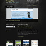 Premium Wordpress Theme ProudFolio