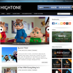 Premium WordPress Theme Hightone