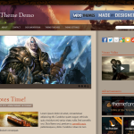 Premium Wordpress Theme World of Warcraft New