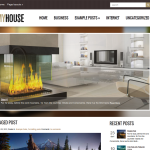 Premium Wordpress Theme MyHouse