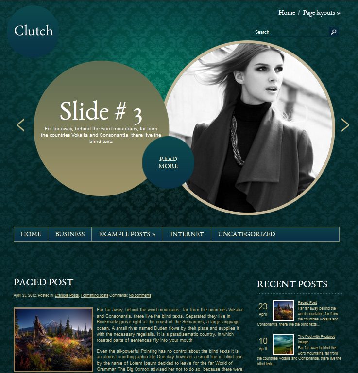 free_wordpress_theme_clutch