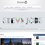 Premium Wordpress Theme Onion