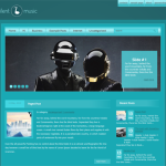 Premium Wordpress Theme SilentMusic