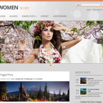 Premium Wordpress Theme Women Secret