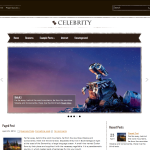 Premium Wordpress Theme Celebrity