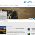Premium Wordpress Theme PhotoPaper