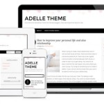 Premium Wordpress Theme Adelle