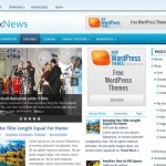 Premium Wordpress Theme FxNews