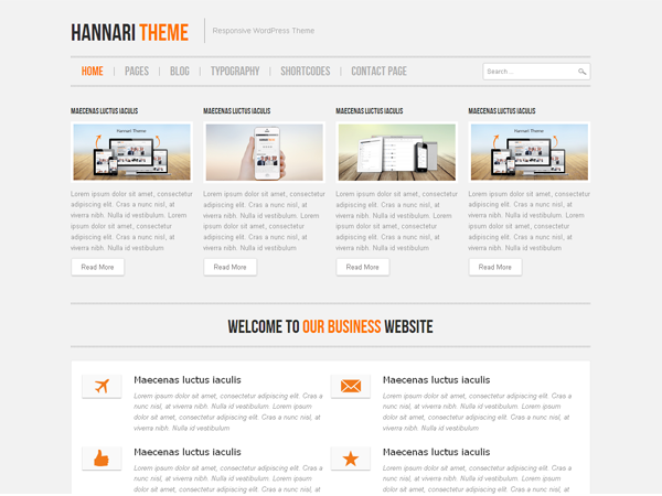 hannari-responsive-wordpress-theme