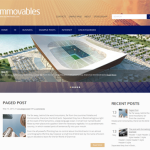 Premium Wordpress Theme Immovables