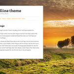 Premium Wordpress Theme Landline