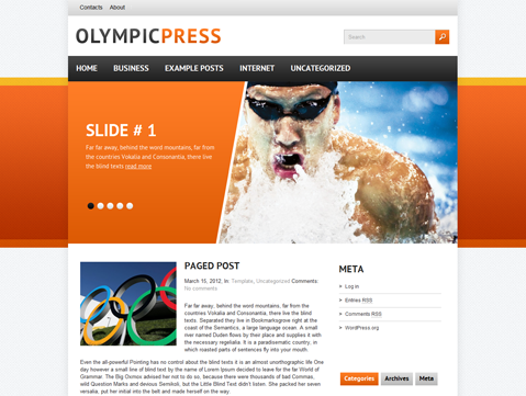wordpress-olympicpress-theme