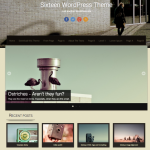 Premium WordPress Theme Sixteen