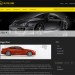 Premium Wordpress Theme Elite Cars