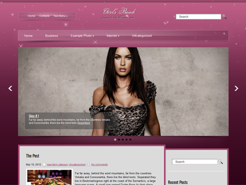 wordpress_theme_girlsbook