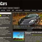 Premium WordPress Theme AutoCars