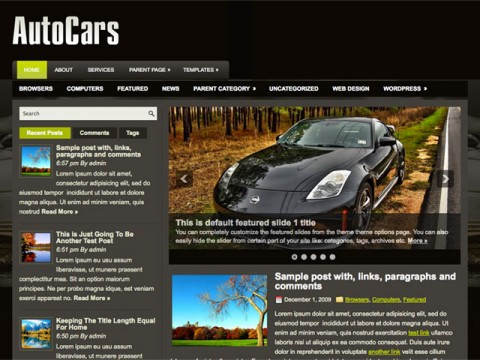 Auto-cars-wordpress-theme