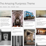 Premium WordPress Theme Fluxipress