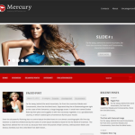 Premium WordPress Theme Mercury