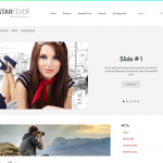 Premium Wordpress Theme StarFever