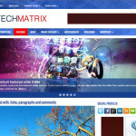 Premium WordPress Theme TechMatrix