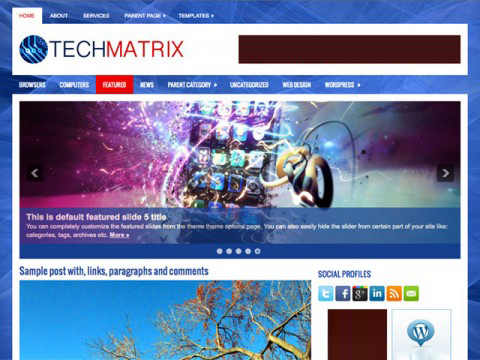 TechMatrix-wordpress-theme