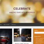 Premium Wordpress Theme Celebrate