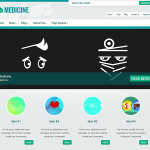 Premium Wordpress Theme Medicine