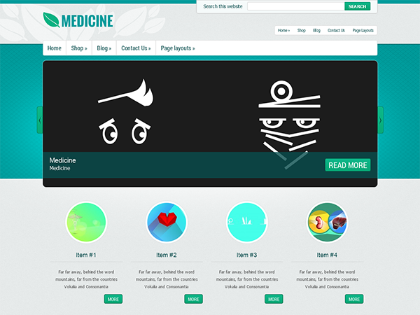 medicine-wordpress-theme