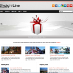 Premium Wordpress Theme StraightLine