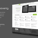 Premium Wordpress Theme Heavenly