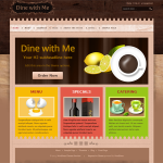 Restaurant Wordpress Theme – Dine With Me