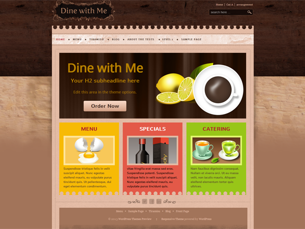 dine-with-me-restaurant-theme