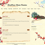 Premium Wordpress Theme Oriental Writing